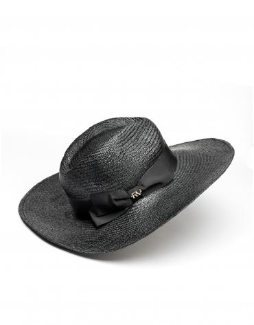 Sombrero rafia ala ancha