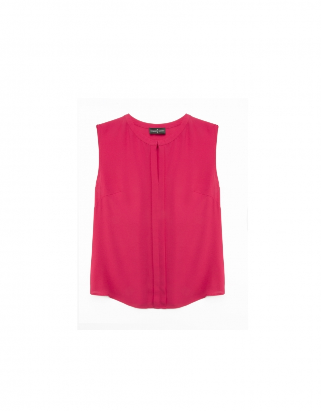Petunia pleated top