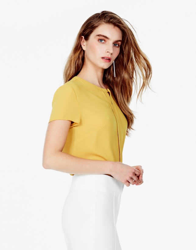Amber short sleeve top