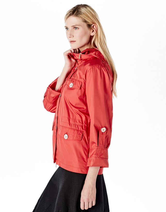 Azalea short windbreaker
