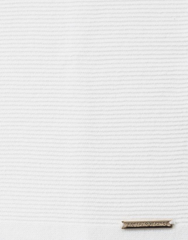 Plain beige sweater