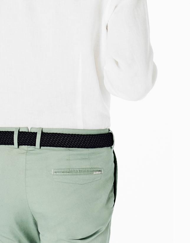 Pantalón chino verde claro