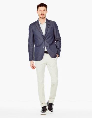 Pantalon de costume chino beige