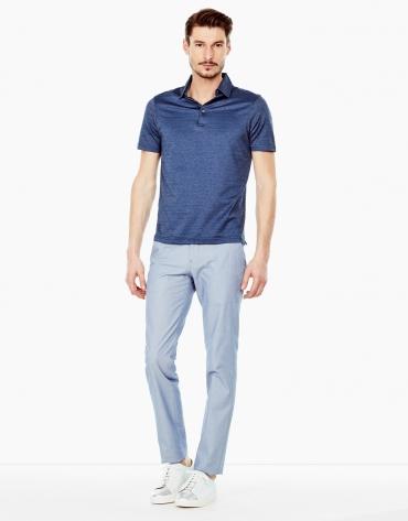 Light blue regular fit chino pants