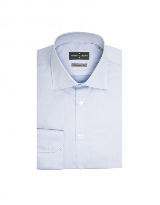 Chemise de costume coupe droite (regular fit) bleu ciel