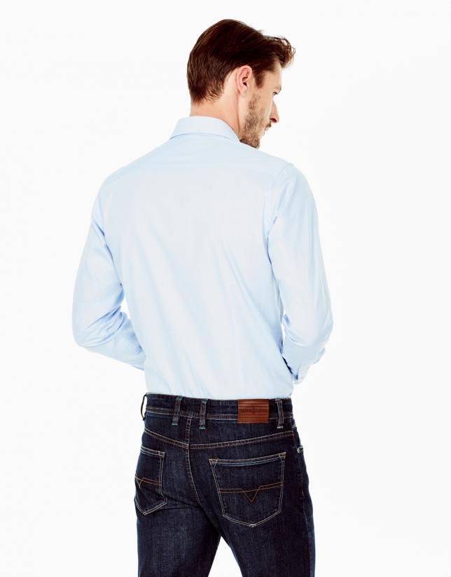 Light blue Oxford dress shirt