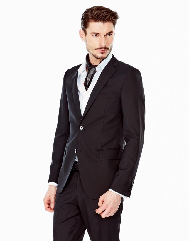 Costume coupe ajustée noir