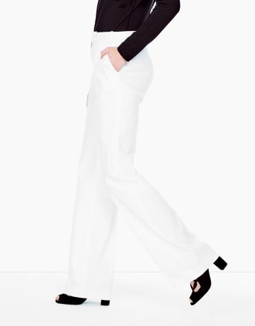 White suit pants