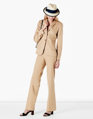 Hazelnut suit pants