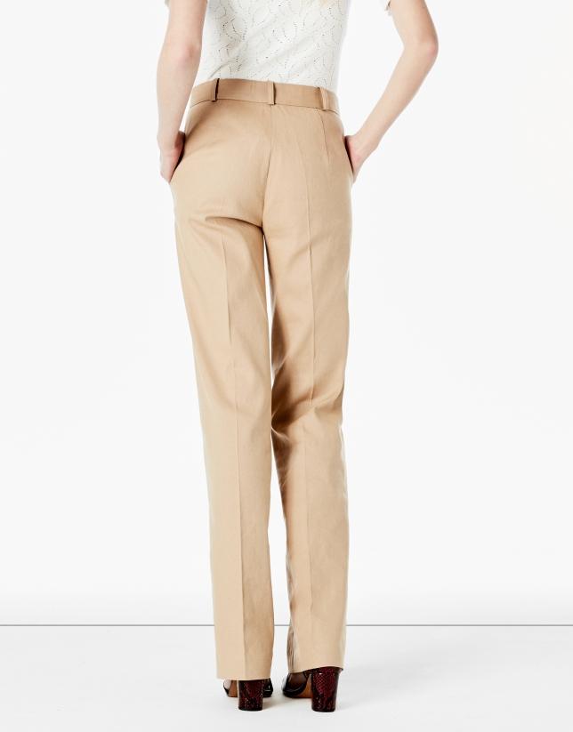 Hazelnut suit pants