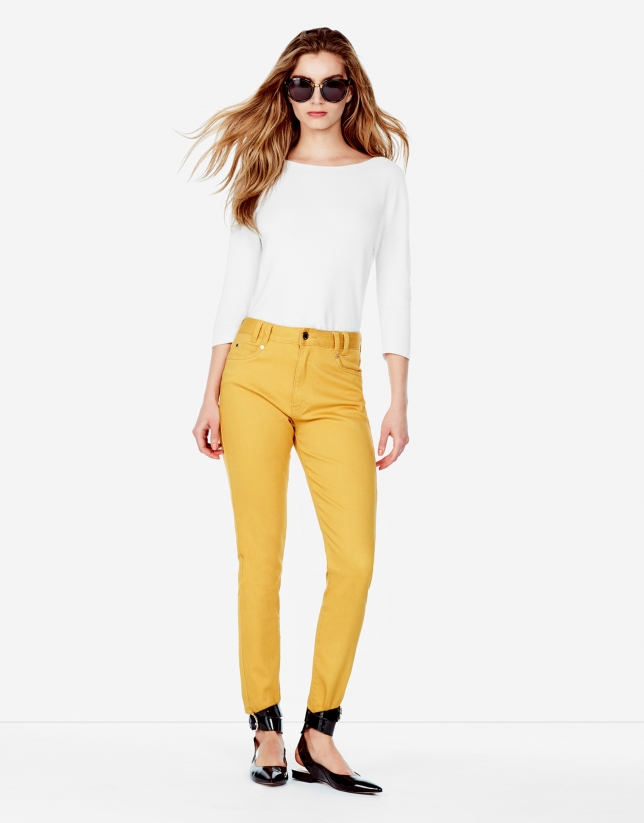 Amber pants with 5 pockets
