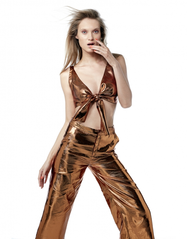 Copper metalized culottes
