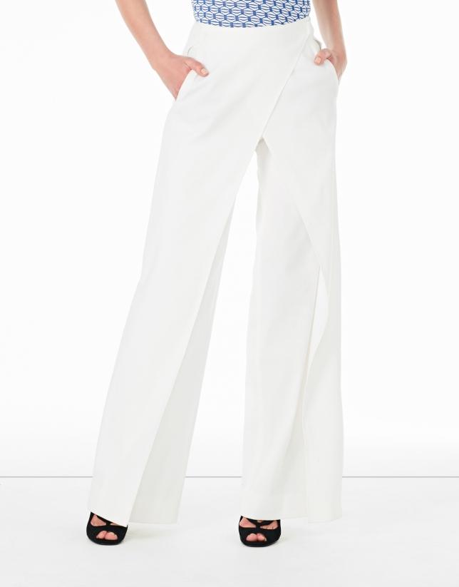 White pants skirt