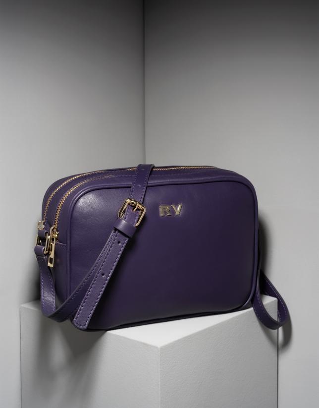Bandoulière Taylor en violet foncé