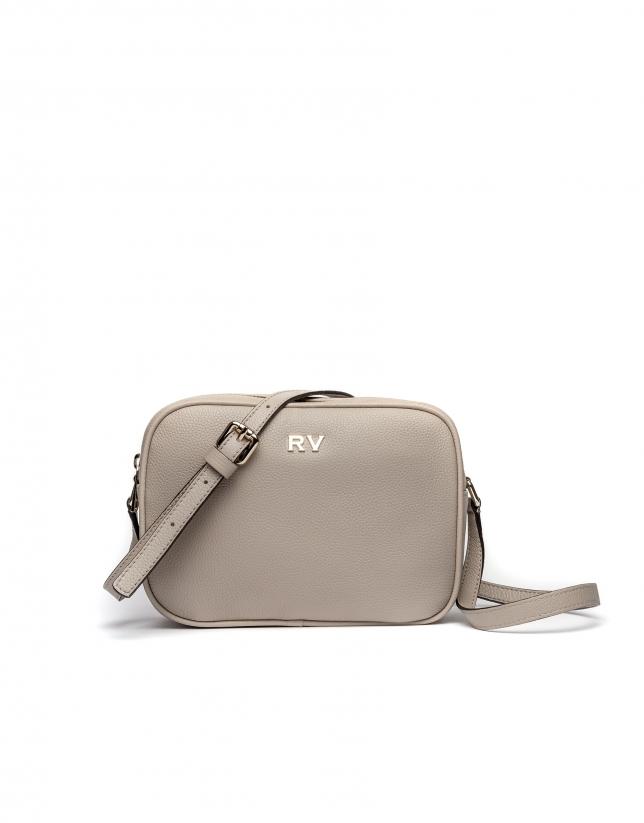 Beige Taylor leather shoulder bag