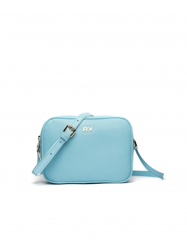 Sky blue Taylor leather shoulder bag