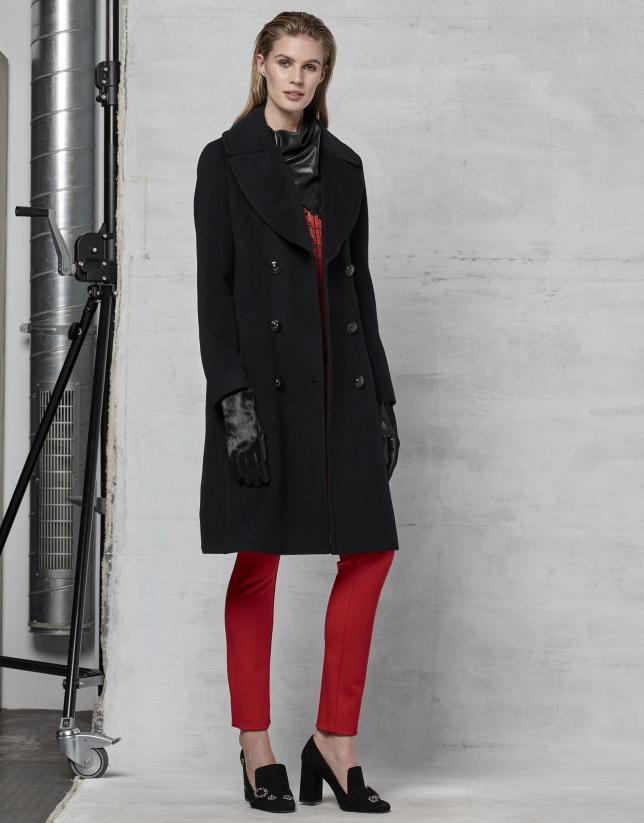 Pantalón 5 bolsillos rojo
