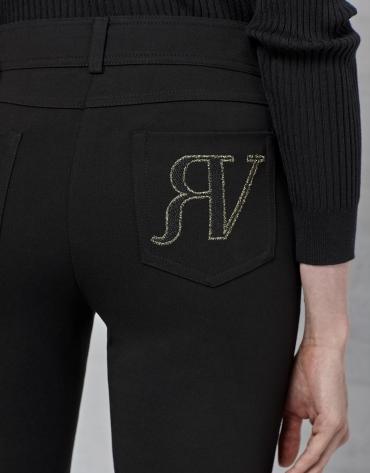 Pantalón 5 bolsillos negro