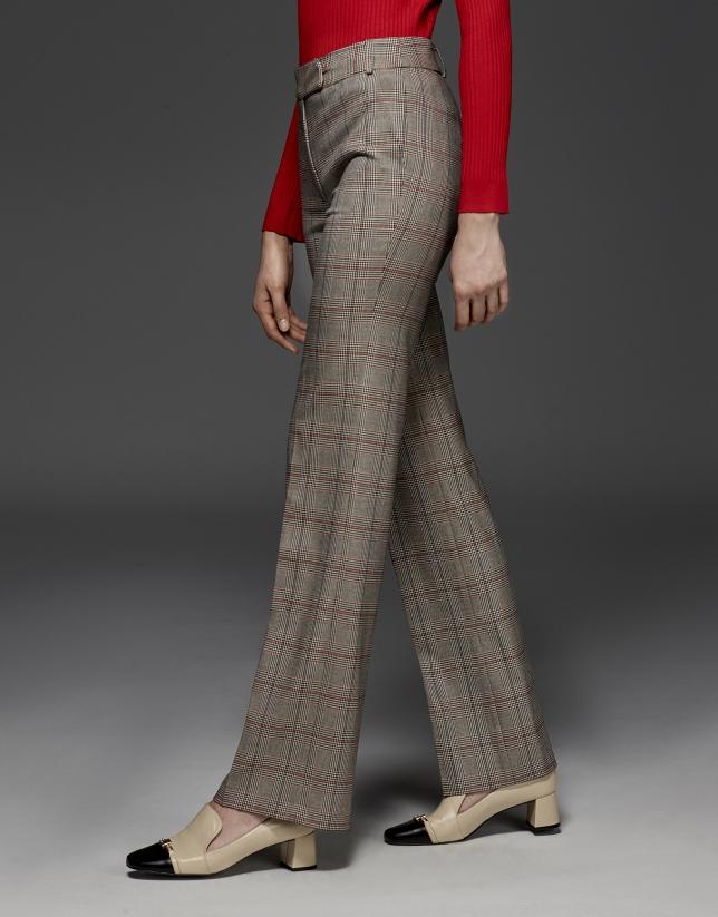 Pantalon droit Prince de Galles