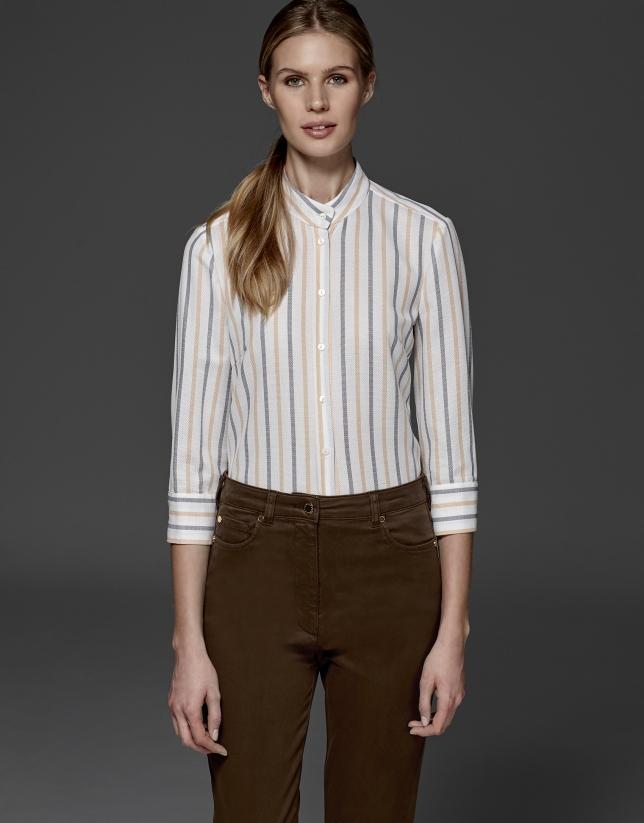 Pantalón sport marrón