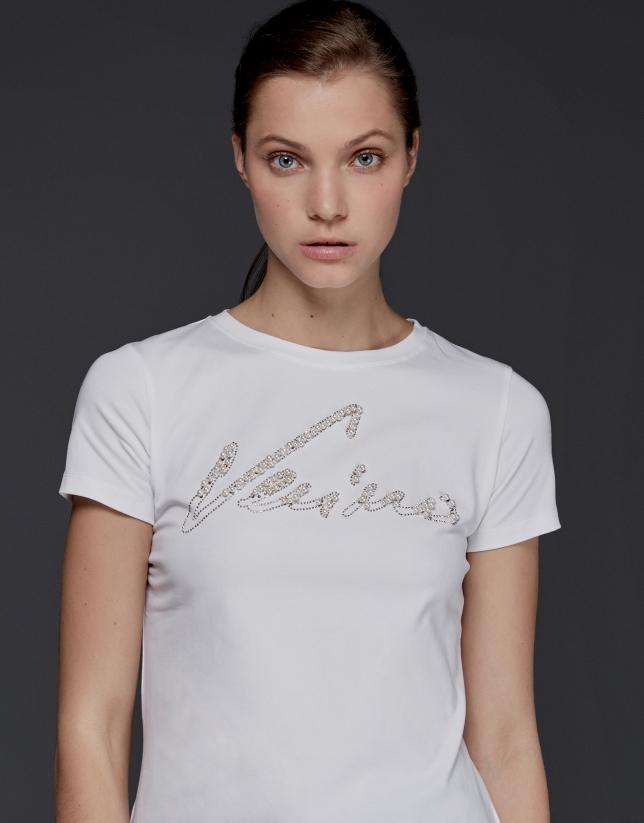 Verino print short-sleeved top