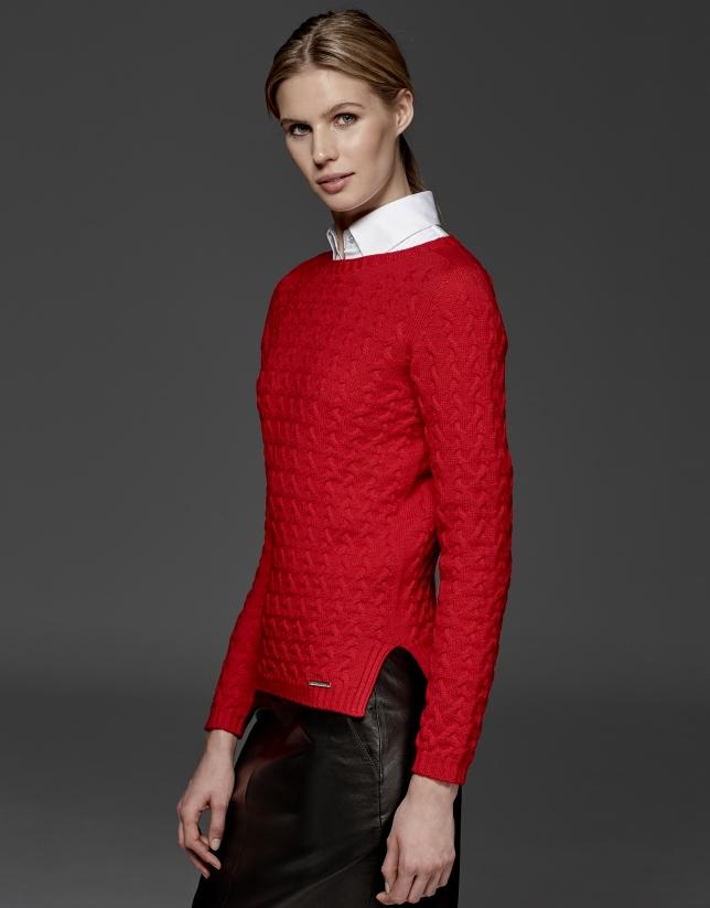 Azalea merino wool sweater