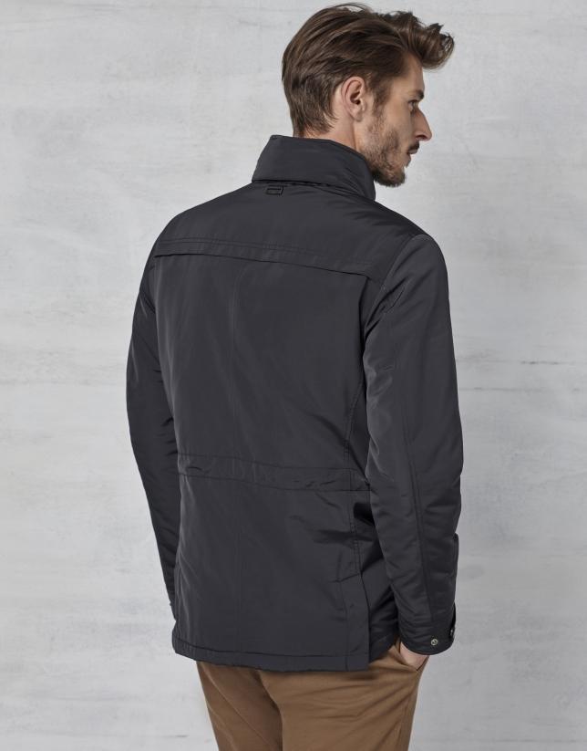 Trois-quarts à 4 poches couleur noir