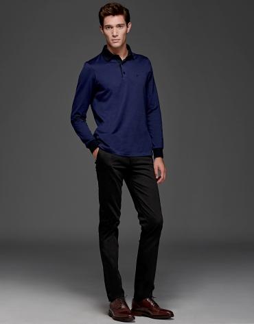 Pantalón chino algodón negro