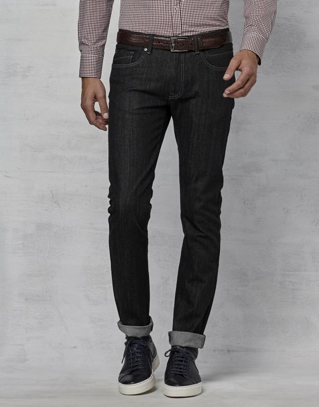 Jean cinq poches noir