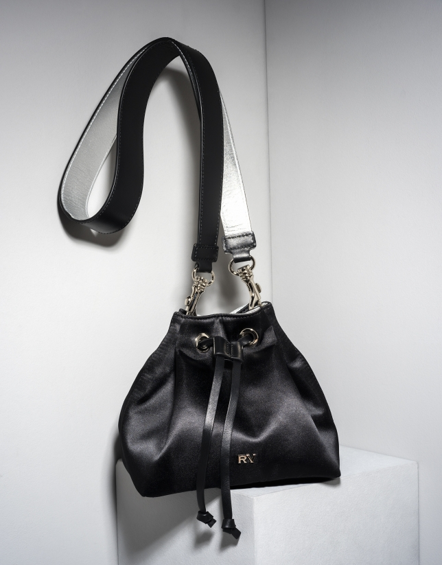 Black Saint Germaine bouquet bag