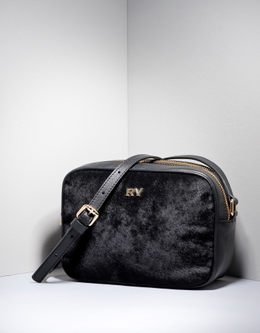 Black leather Taylor shoulder bag