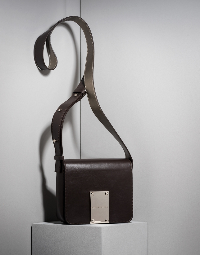 Brown Tribute shoulder bag