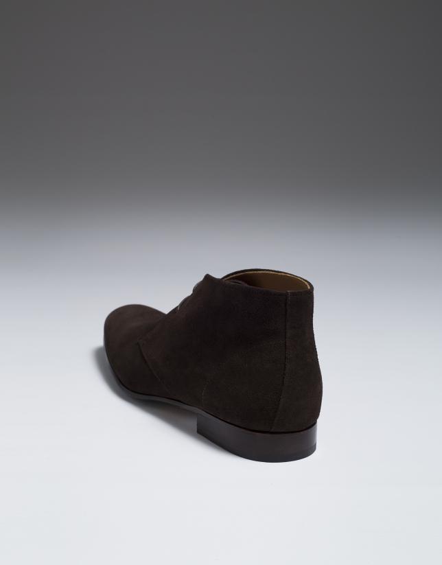 Botin serraje marrón