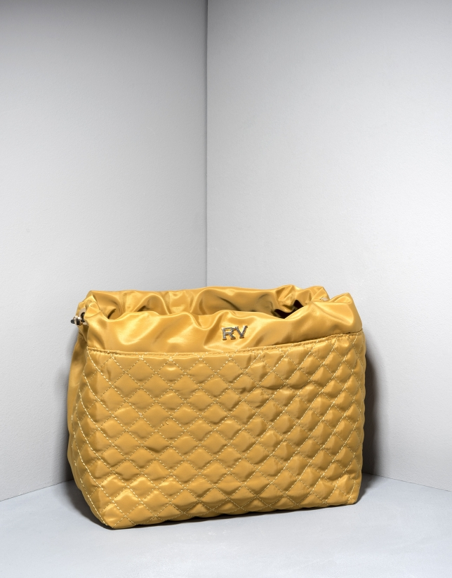 Yellow bag organizer