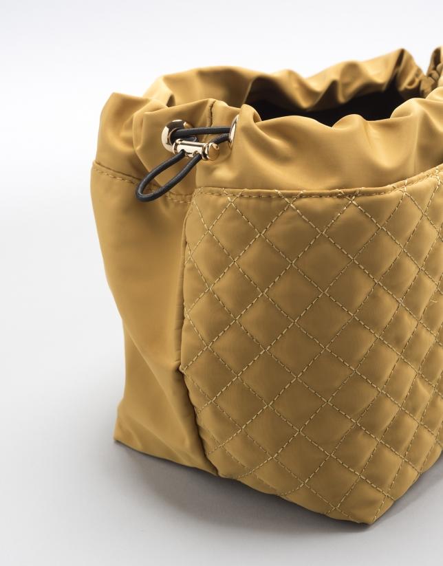 Organizador de bolsos amarillo