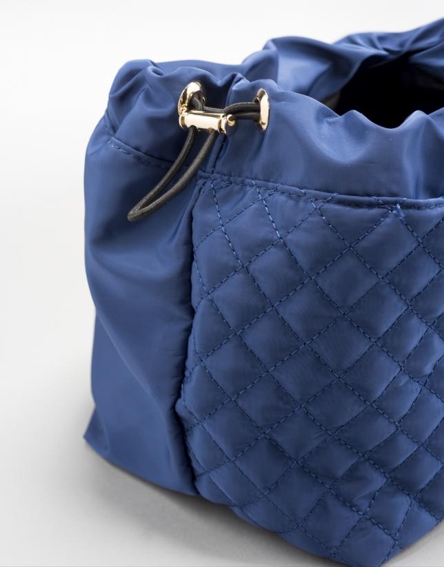 Blue bag organizer