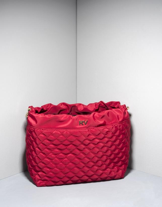Organisateur de sac à main couleur rouge