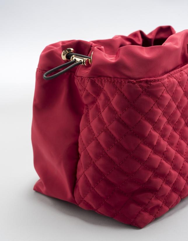 Organizador de bolsos rojo