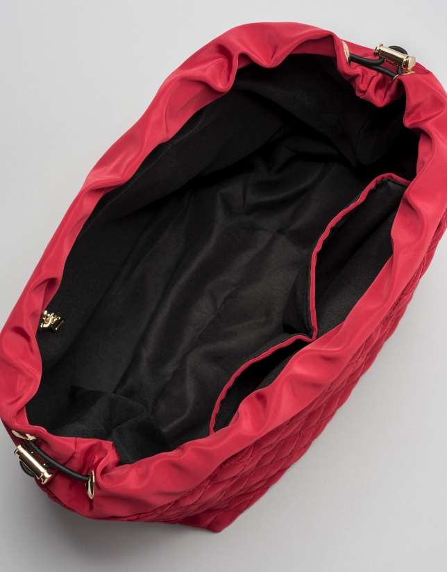 Red bag organizer