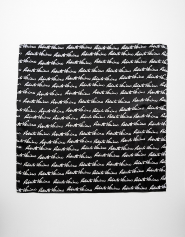 Small black RV signature scarf