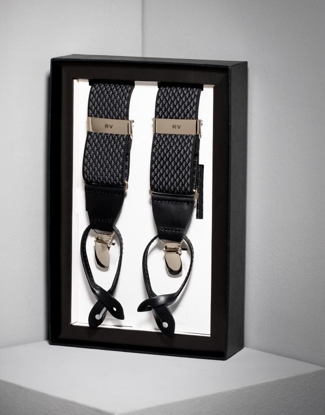 Honeycomb elastic suspenders