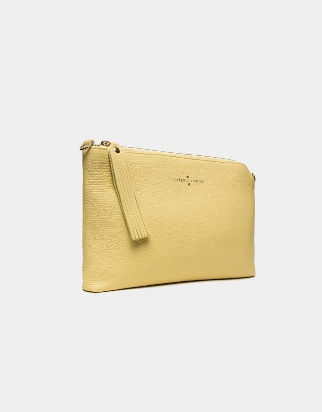 Bolso Clutch Lisa amarillo sol