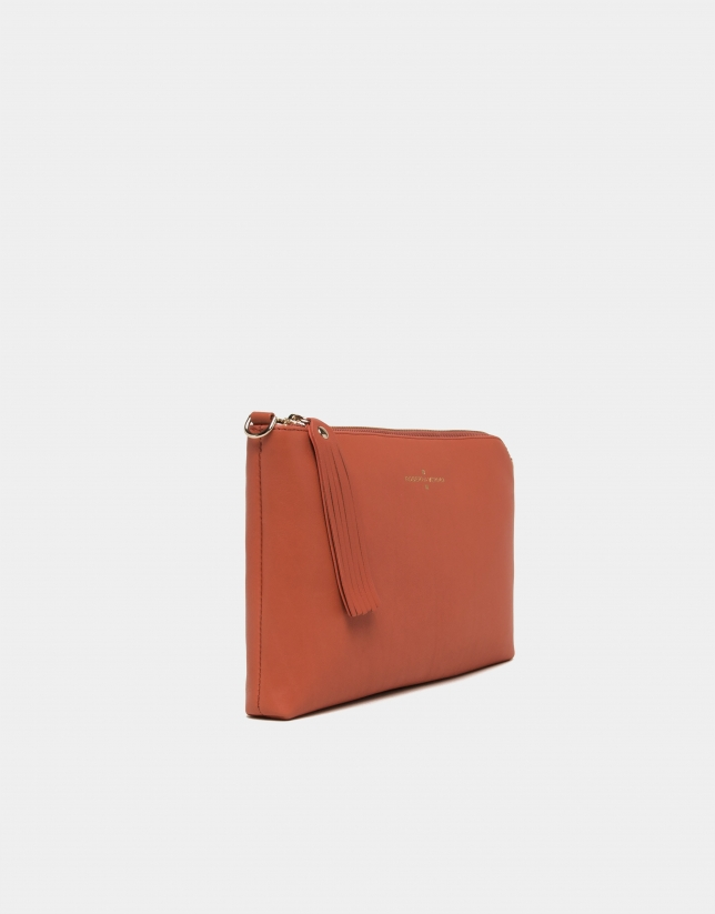 Bolso Clutch Lisa naranja