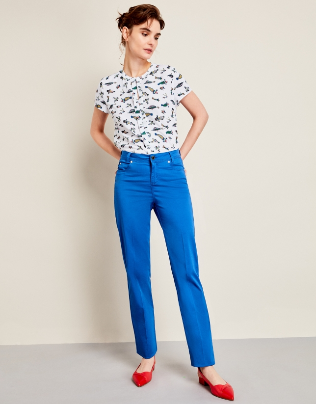 Blue Palace sport pants with five pockets