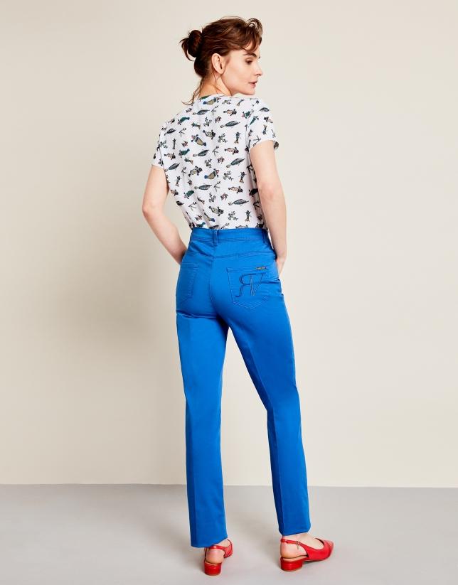 Blue Palace sport pants with five pockets