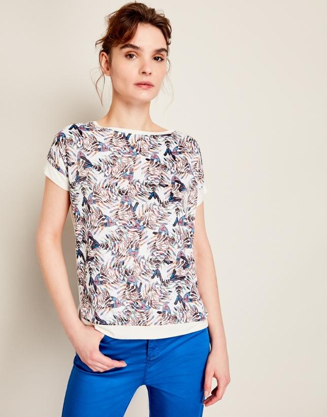 Camiseta amplia peces