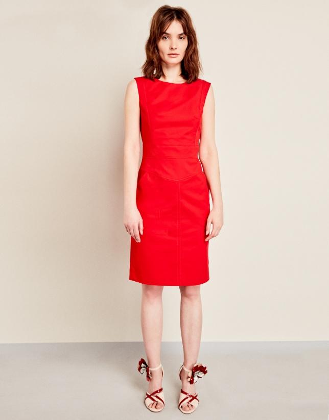 Vestido sport rojo