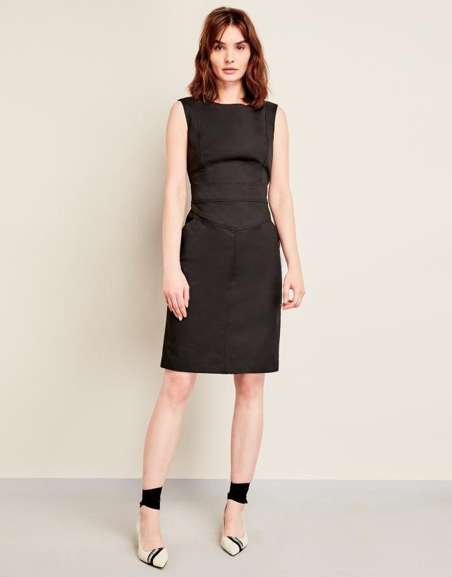 Vestido sport negro
