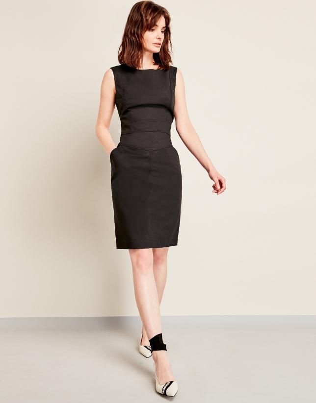 Black sporty dress