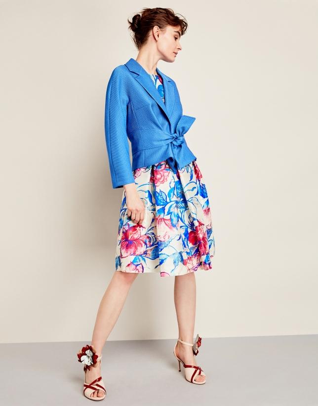 Vestido lady estampado azul